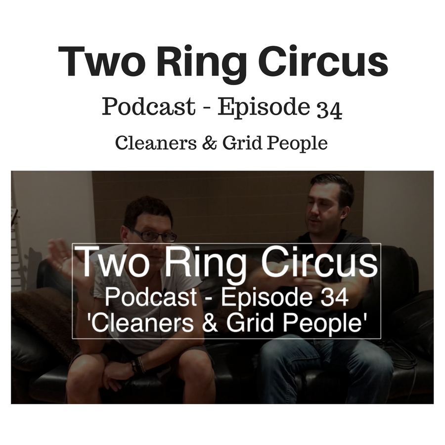 """TRC Podcast - Episode 034 - 'Cleaners & Grid People OR """"home-made broth""""'"""