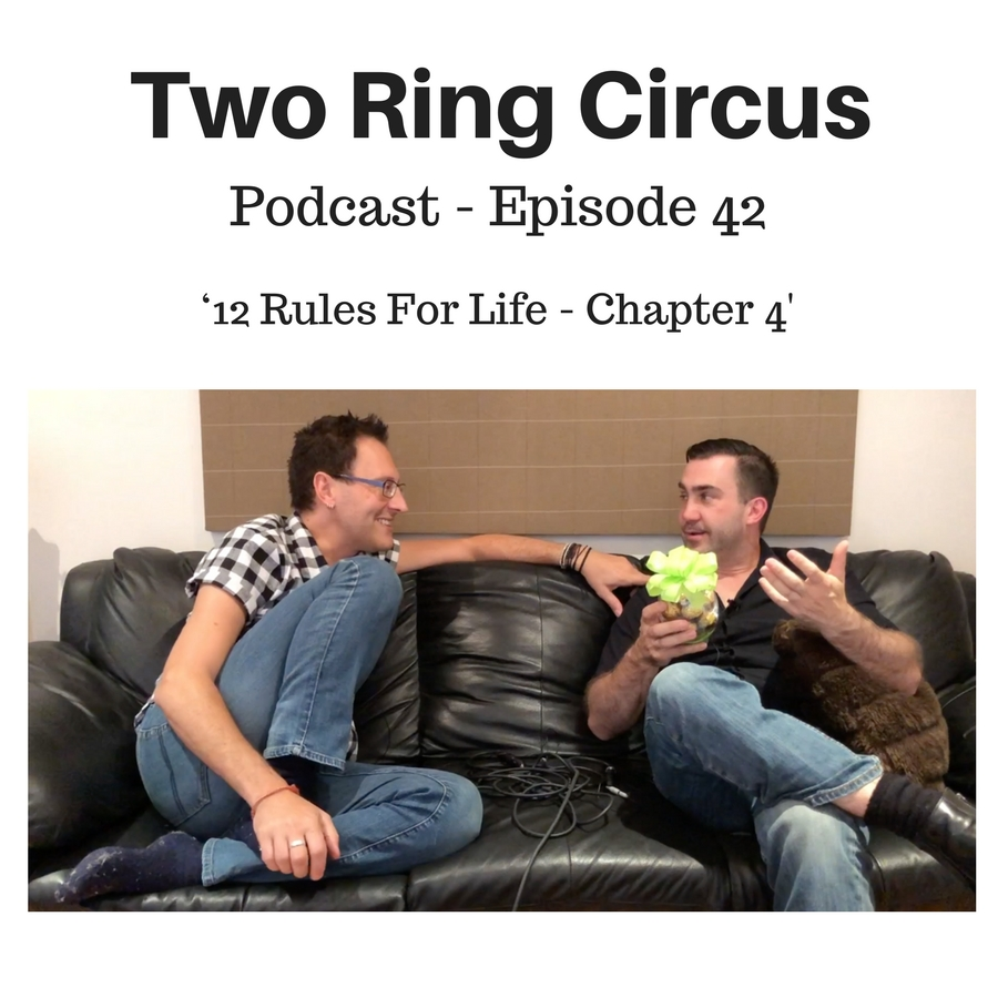 TRC Podcast - Episode 042 - '12 Rules for Life - Chapter 4'