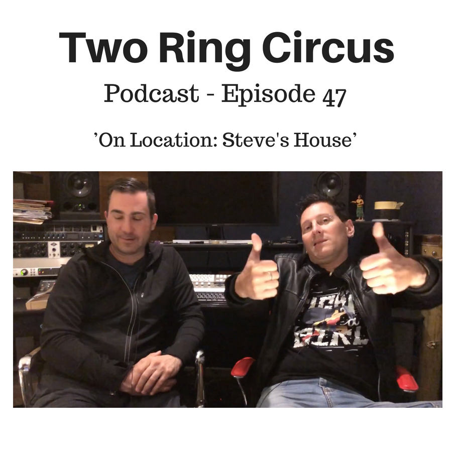 TRC Podcast - Episode 047 - 'On Location: Steve's House OR Hopelessly Devoted To You'