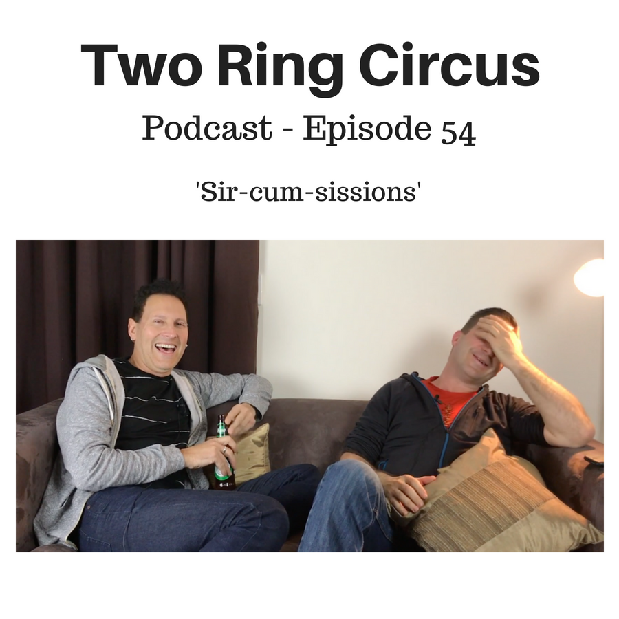 TRC Podcast - Episode 050 - 'I Will Iron Your Shirts OR Credibly Inflexible'