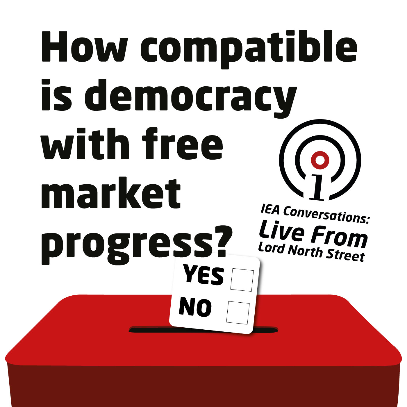 How compatible is democracy with free market progress?