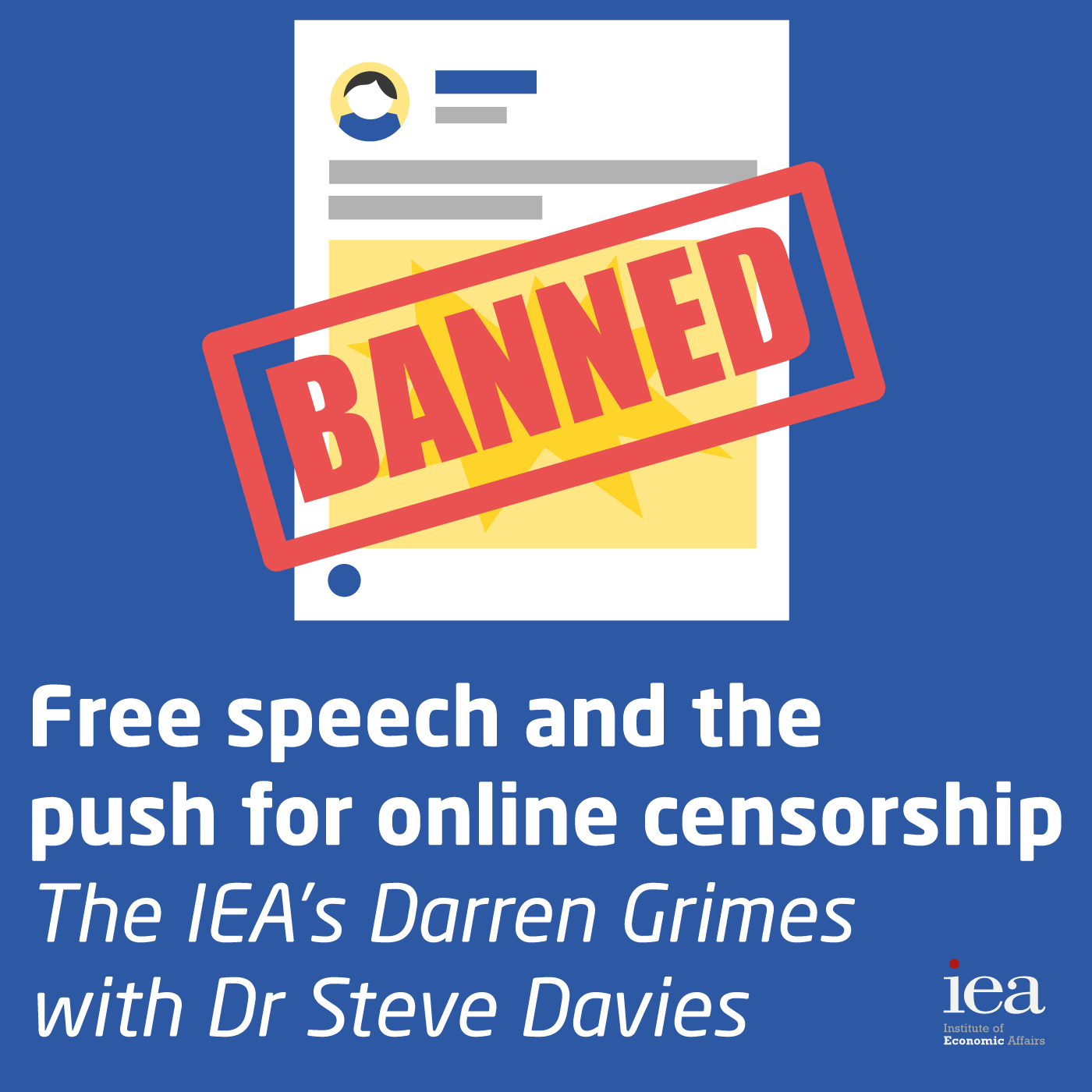 Free speech and the push for online censorship