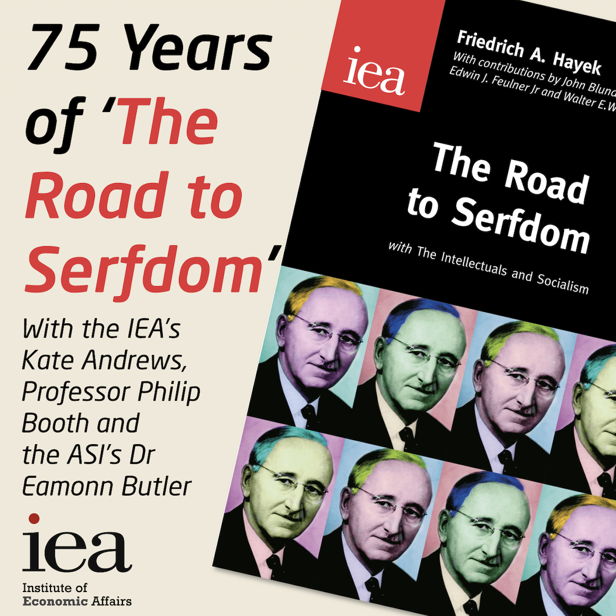 75 years since 'The Road to Serfdom'