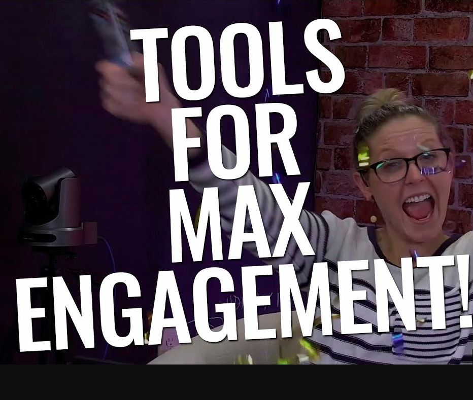 Tools for live audience engagement on Facebook, YouTube and Twitch
