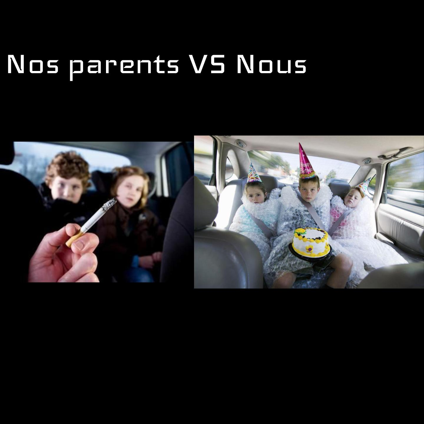 Épisode 106 - Nos parents VS Nous