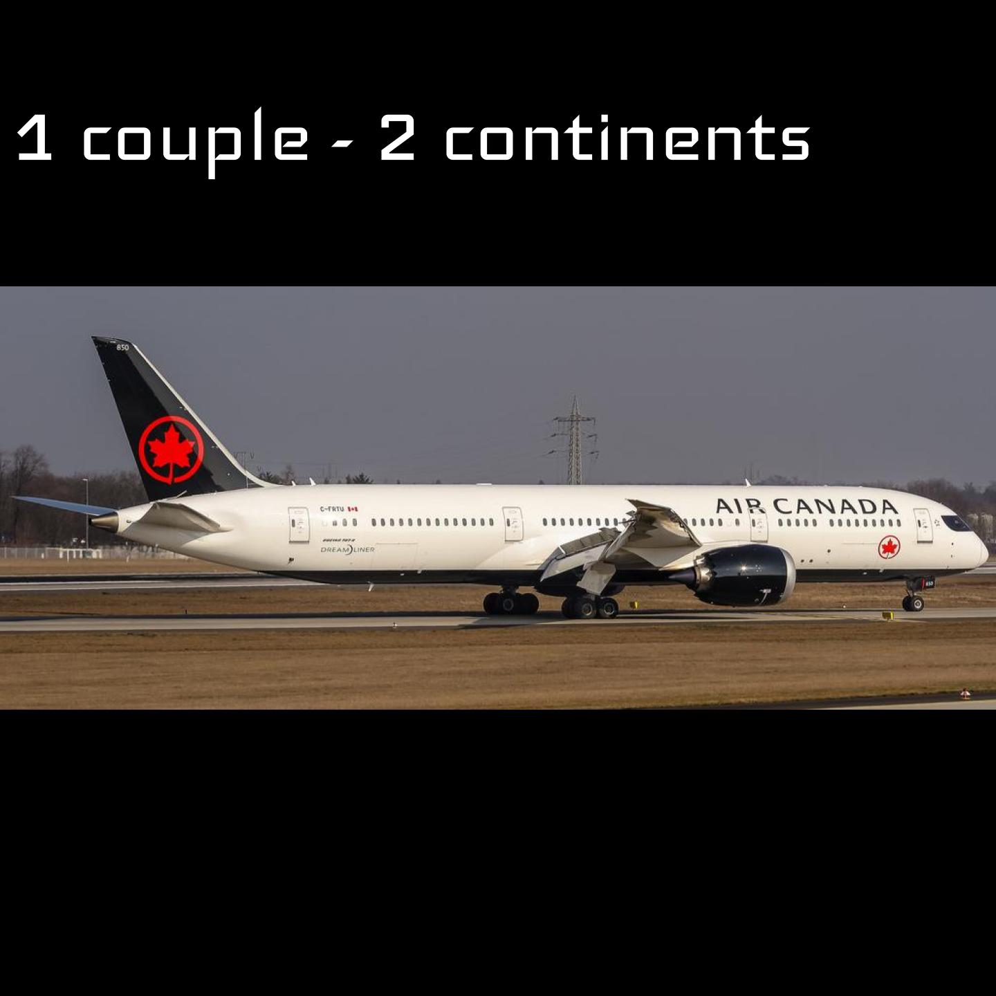Épisode 83 - 1 couple - 2 continents