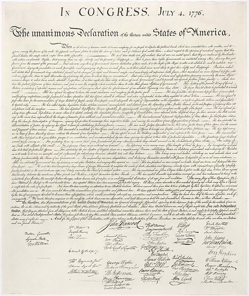 Episode 100 The Declaration of Independence