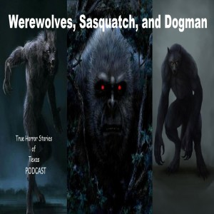 Podcast #5 Dogman, Sasquatch, Hairy Humanoids