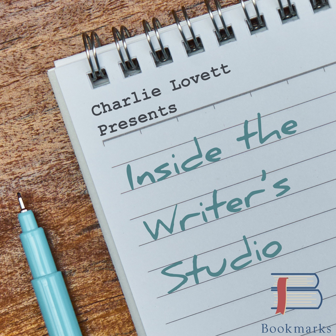 Charlie Lovett (2/4/18) Inside the Writer's Studio Episode #9