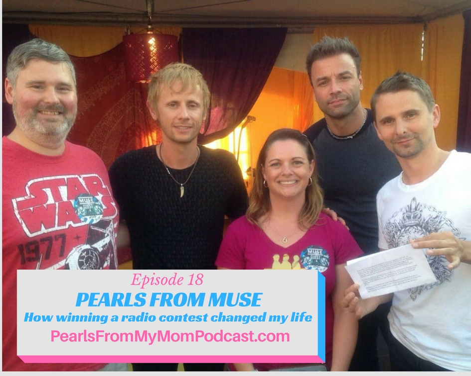 Ep 18 Pearls From Muse - How Winning a Radio Contest Changed My Life
