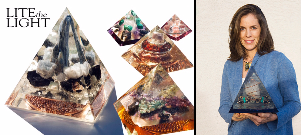Orgone and Michelle Hood's Crystal Pyramids: Mystic Grace Episode #14