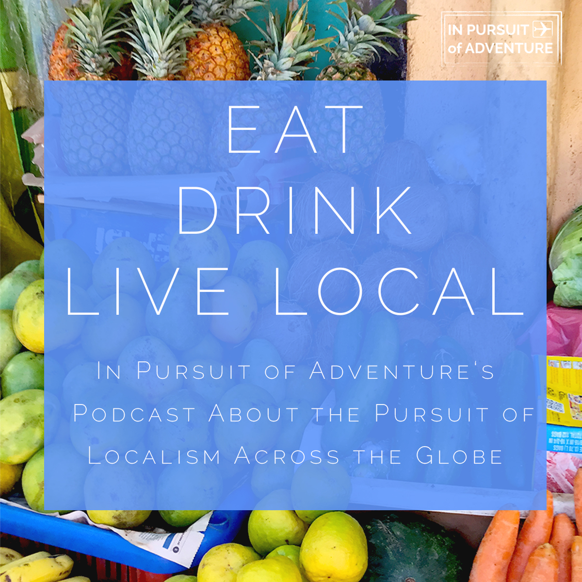 Season One Episode One - Introduction to Eat Drink Live Local