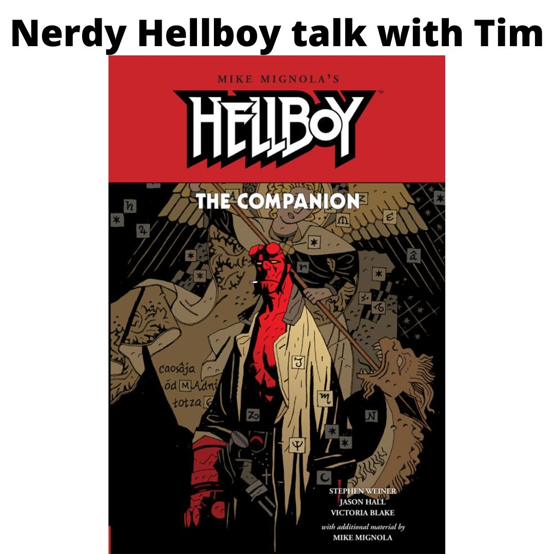 Hellboy talk with Tim