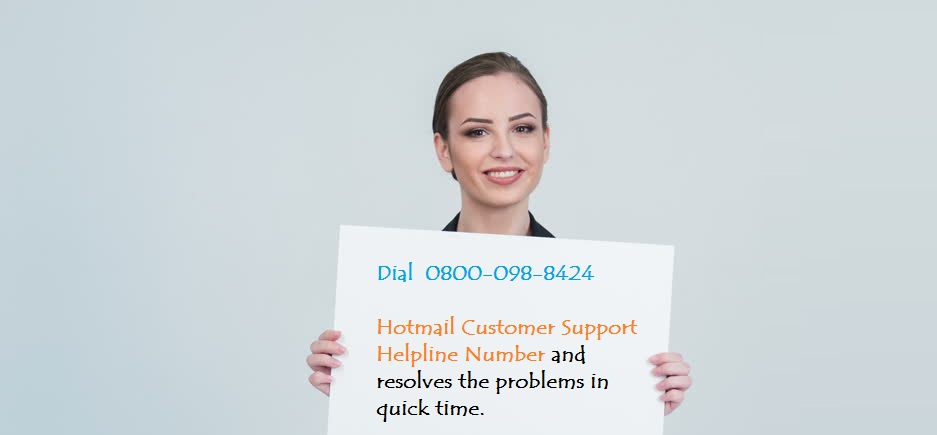 Get Hotmail Tech Help Support Service In Few Minutes Call 0800 098 8424