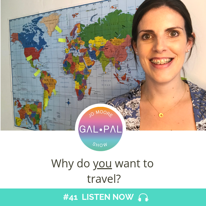 41: Why do you want to travel?