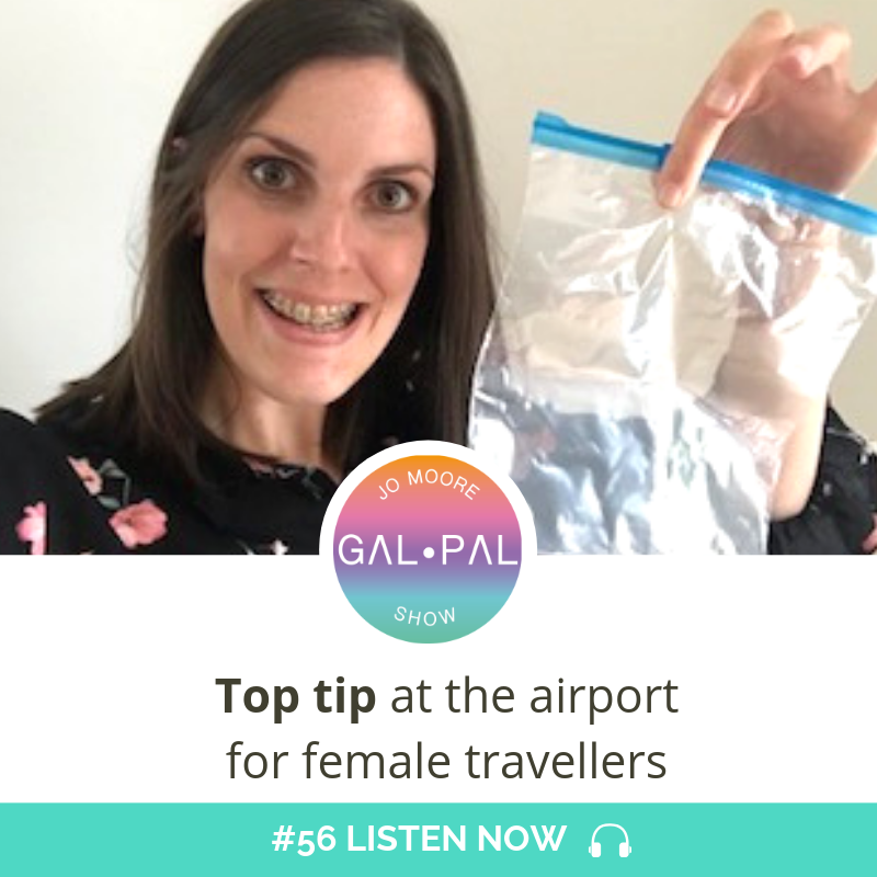 56: Top tip at the airport for female travellers