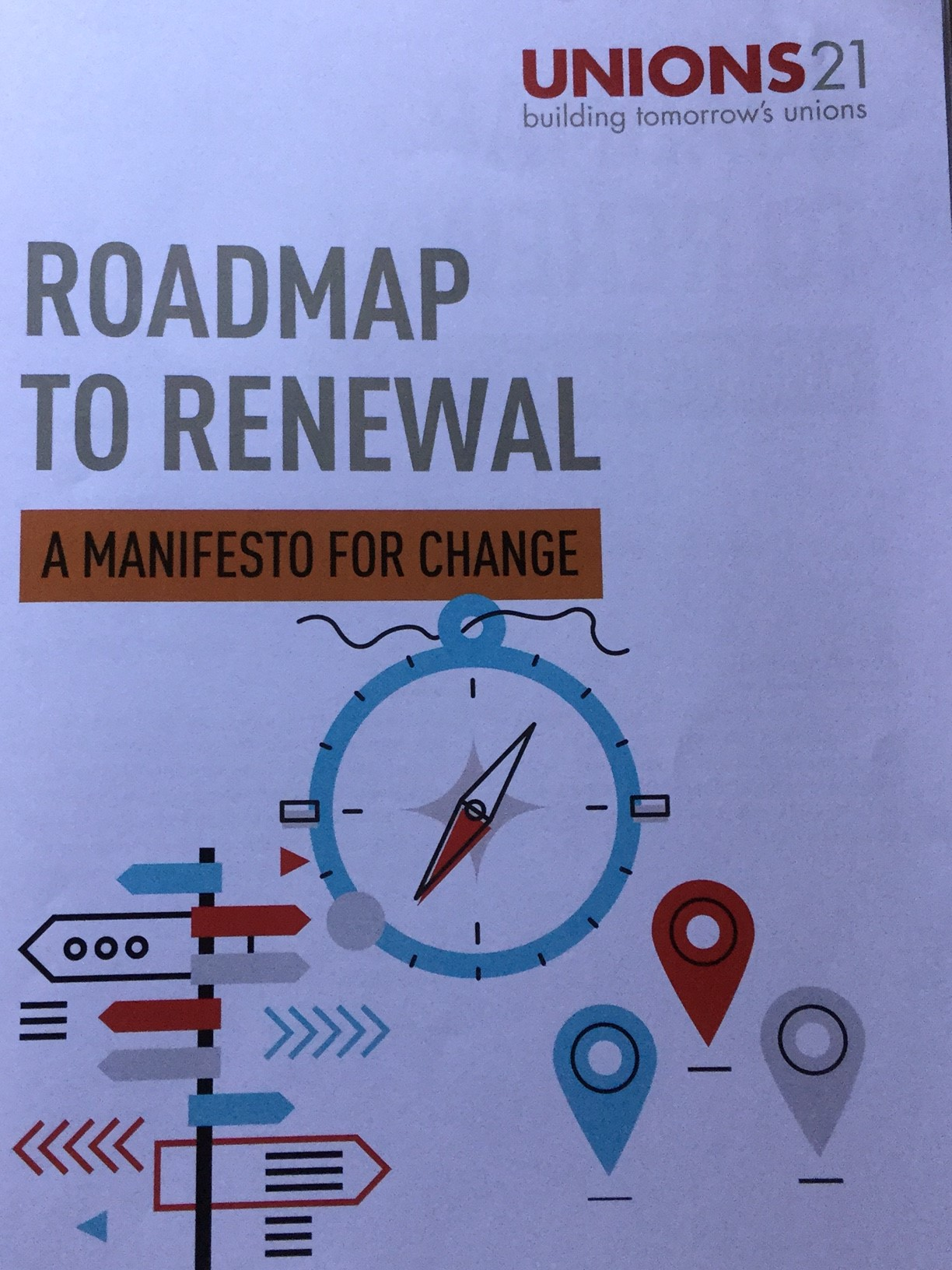Roadmap To Trade Union Renewal