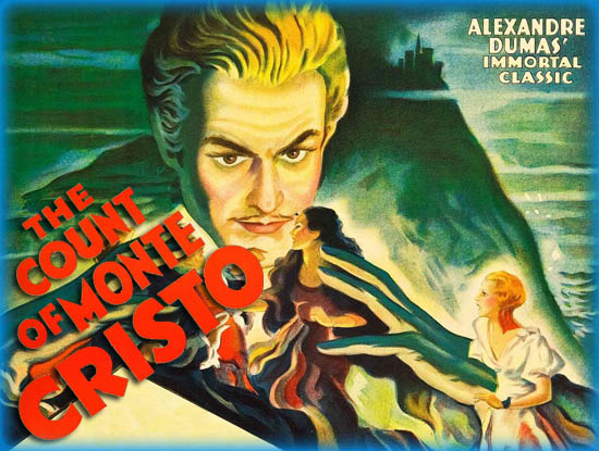 Season 4:  Episode 133 - Count of Monte Cristo by Alexandre Dumas (1844) / The Count of Monte Cristo (1934)