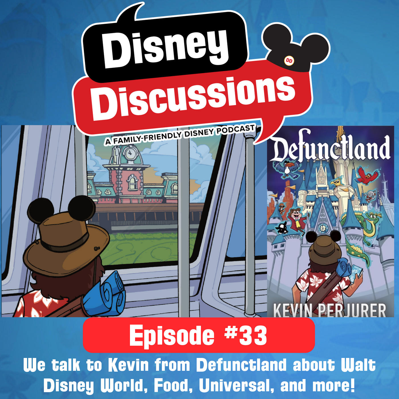 We talk to Kevin from Defunctland about Walt Disney World, Food, Universal, and more! - Disney Discussions