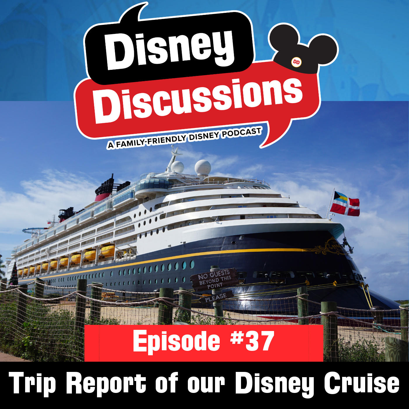 Trip report of our First Disney Cruise