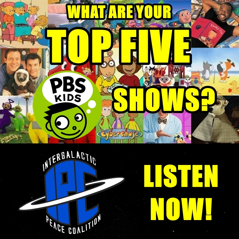 #249: Top Five PBS Shows | The IPC Podcast LIVE