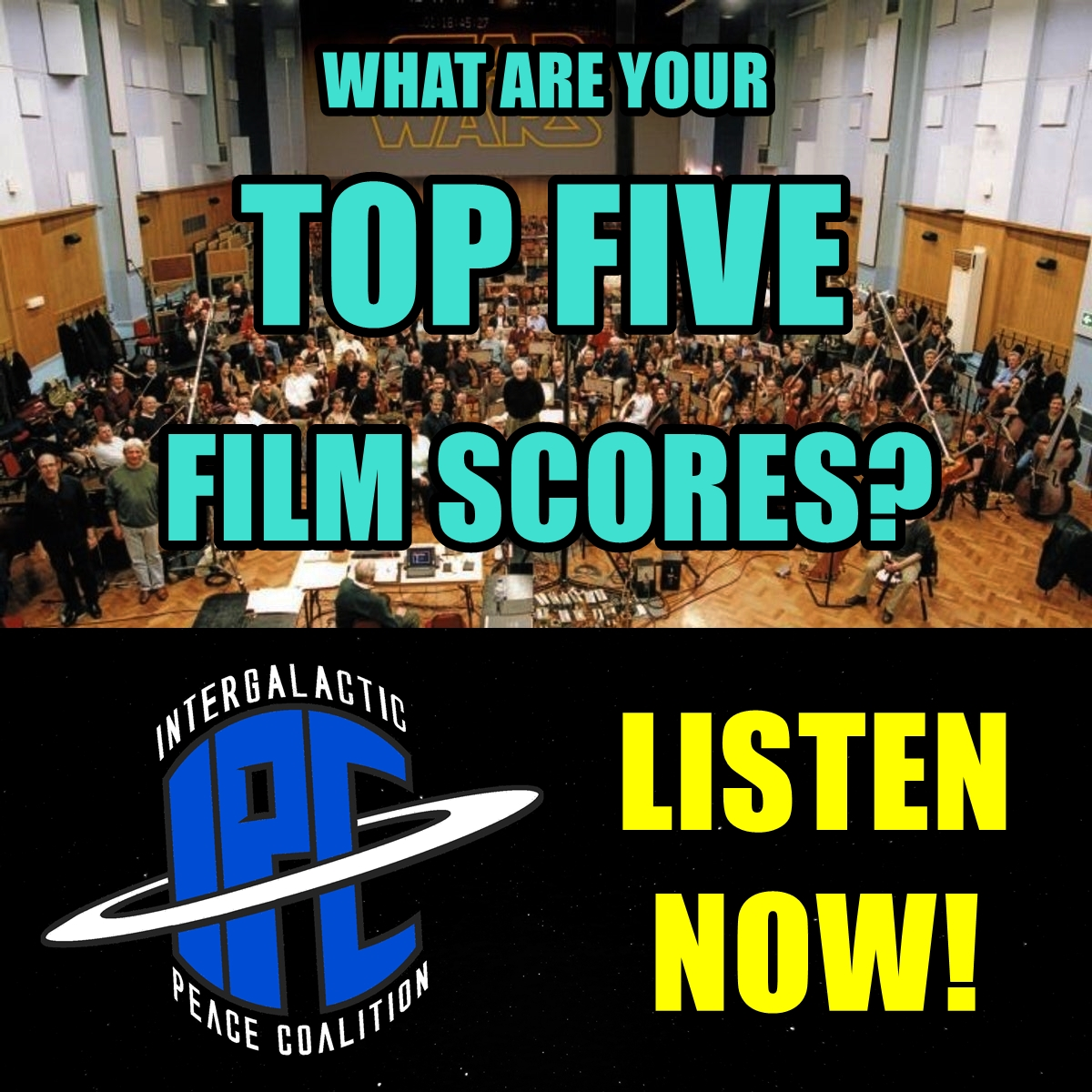 #252: Our Top Five Film Scores | The IPC Podcast LIVE