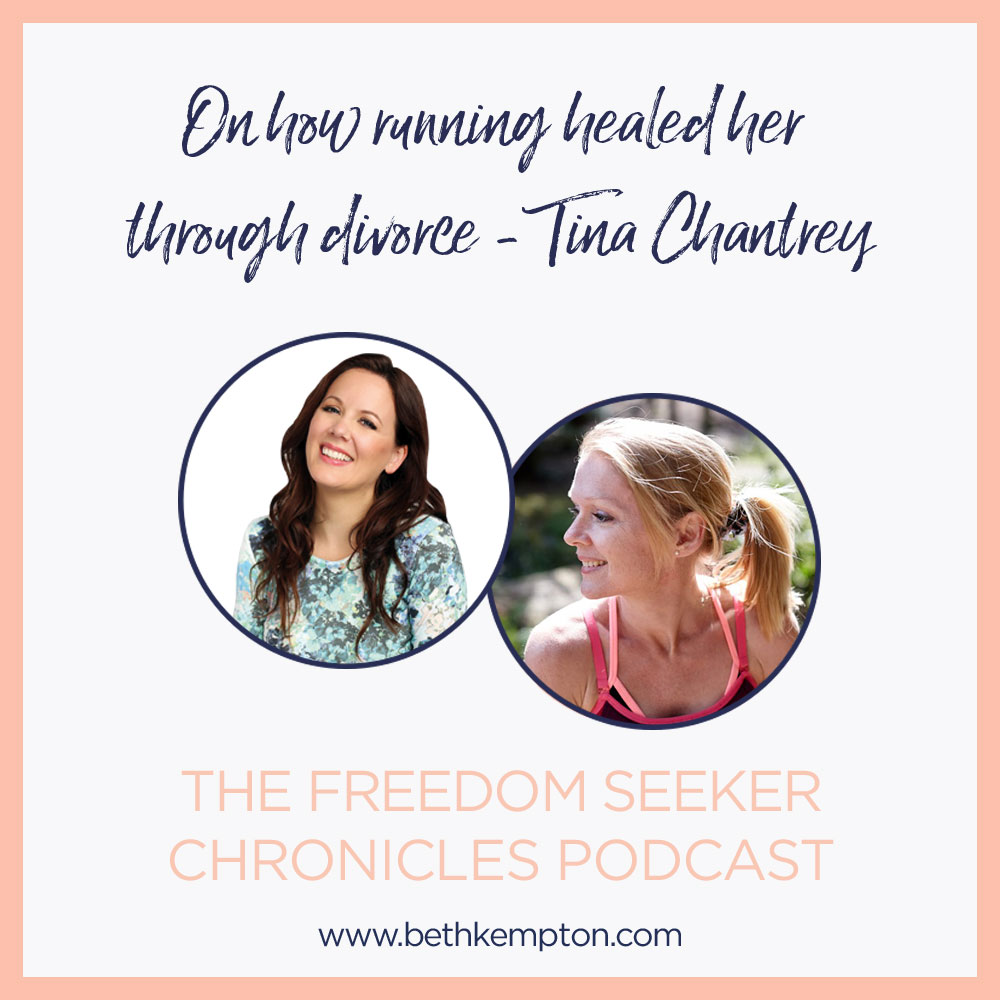 Tina Chantrey on mindful running and how it healed her after divorce