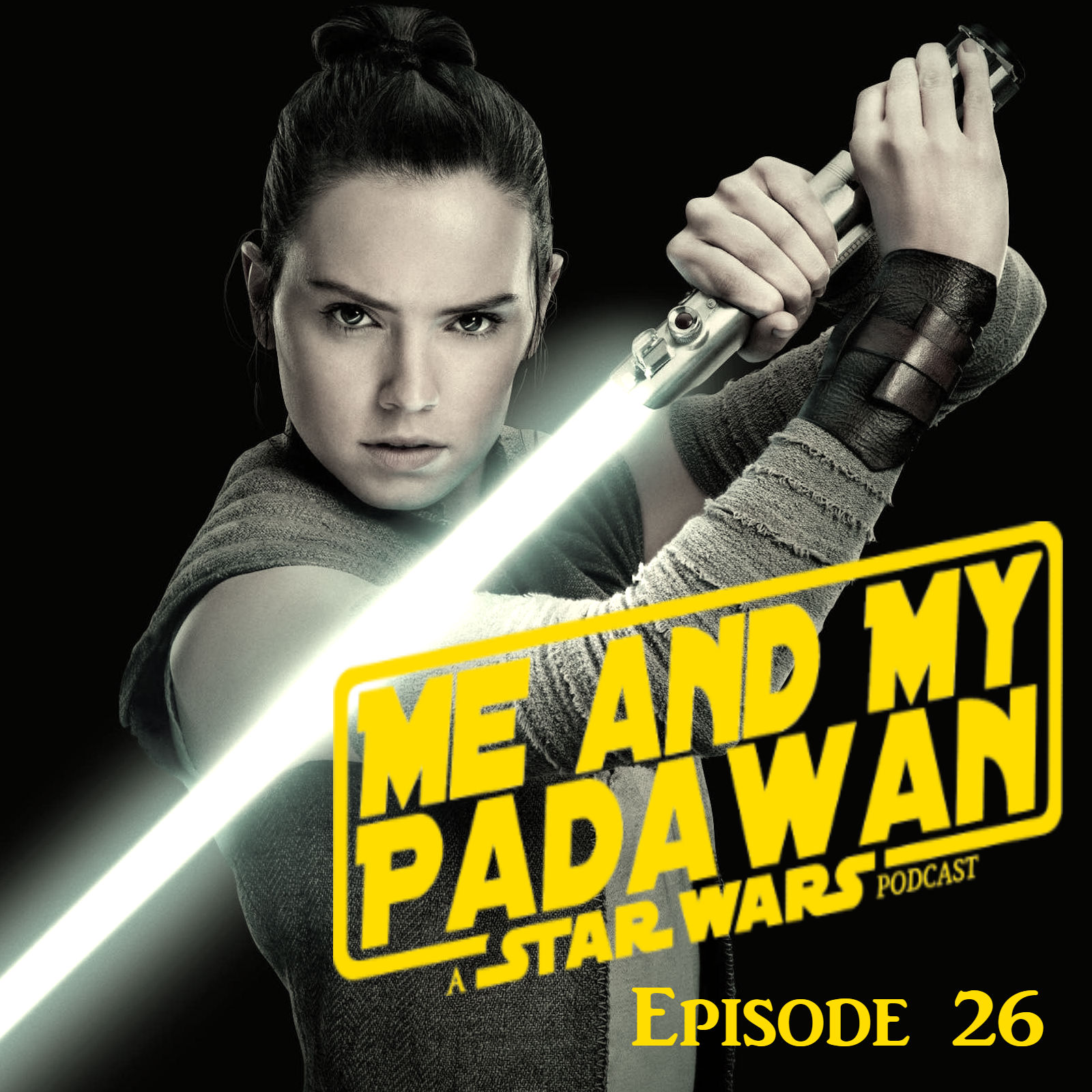Episode 26 - Is Rey a Holocron?  Vader on a Horse, 2019 Goals, and More!
