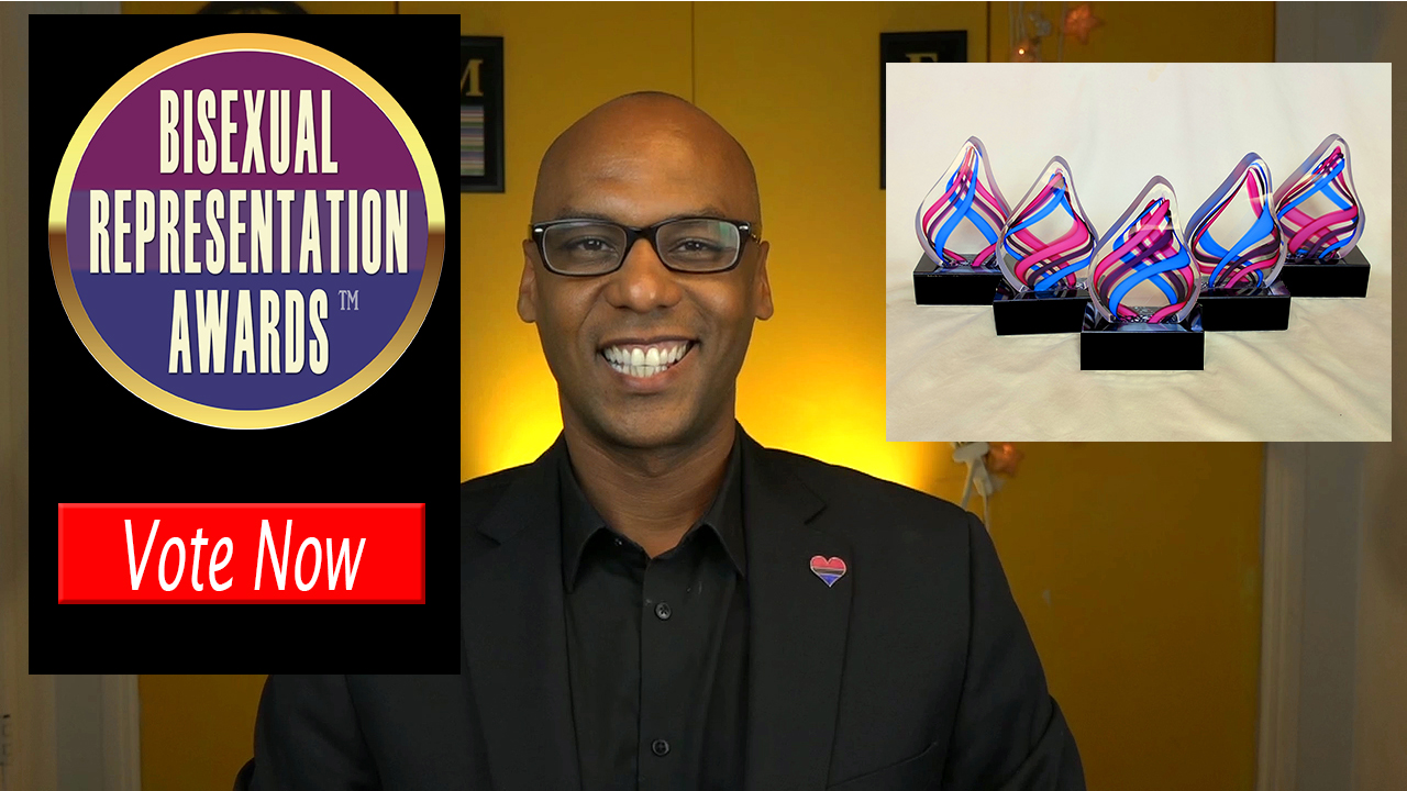 Bisexual Real Talk - 2018 Bisexual Representation Awards Nominees Announcement