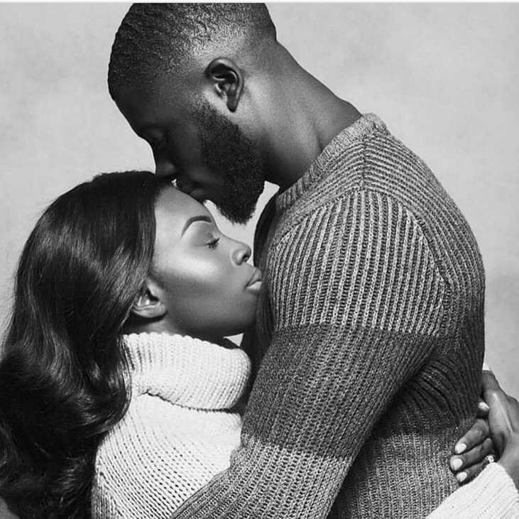 Pictures of black couples in love — pic 14