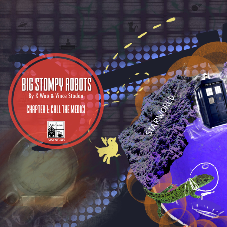 Doctor Who Series 1 - Story 2 - Big Stompy Robots: Chapter One: Call The Medic!