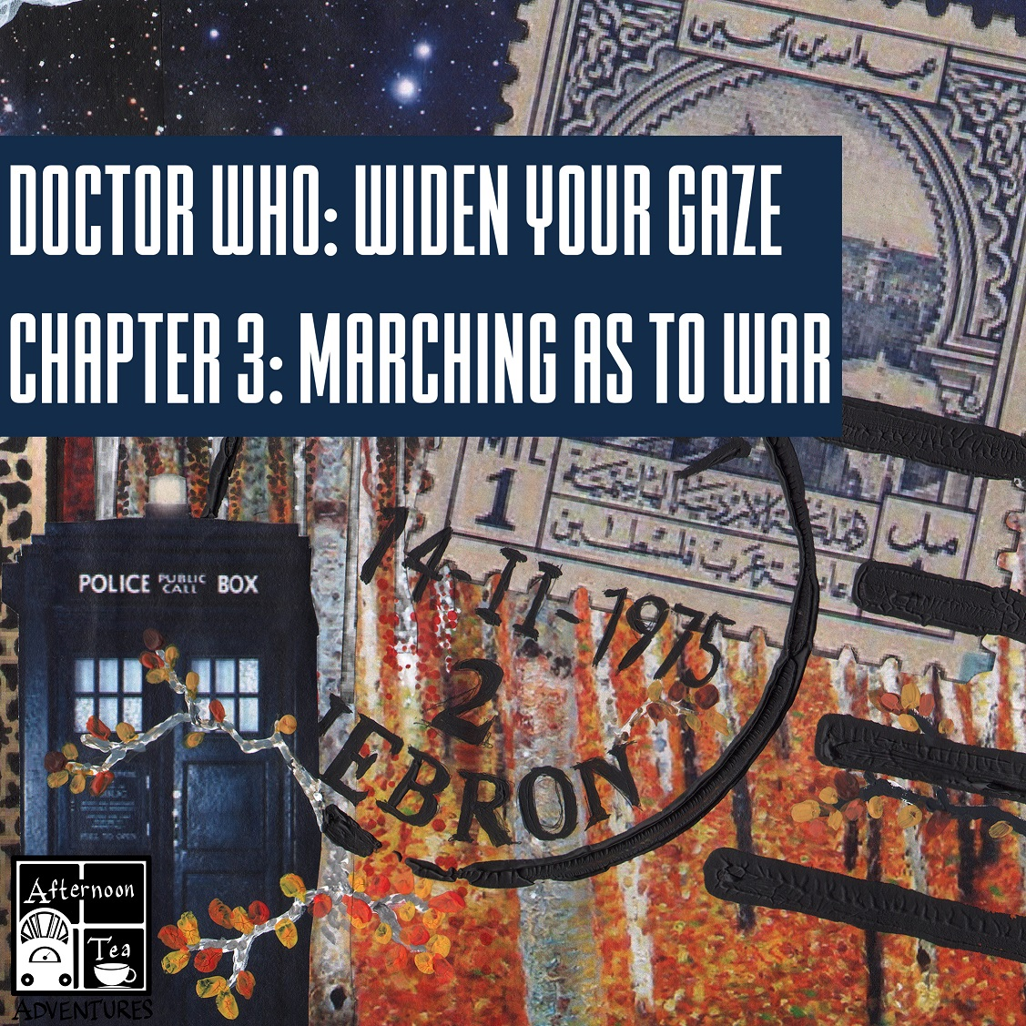 Doctor Who Series 1 Story 1: Widen Your Gaze: Chapter 3 - Marching As To War