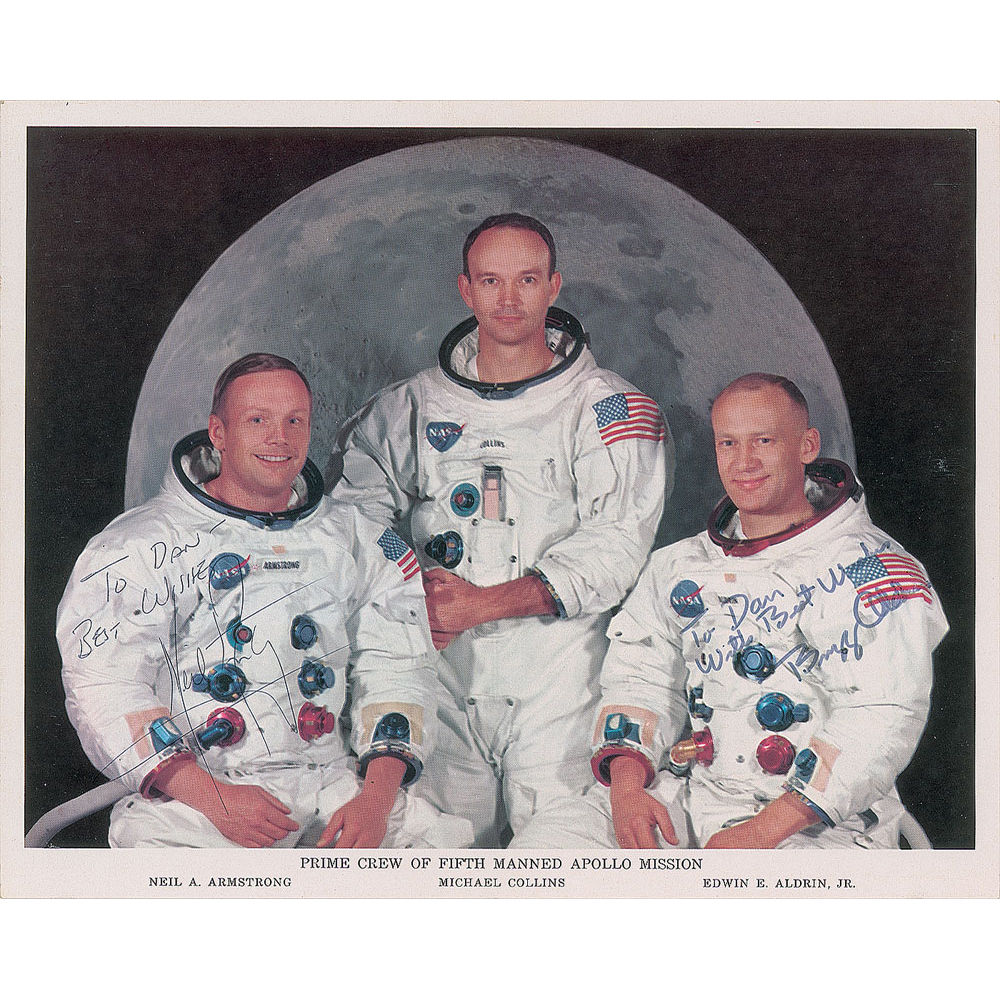Dan Schaiewitz, Apollo missions engineer (RR Auction 511)