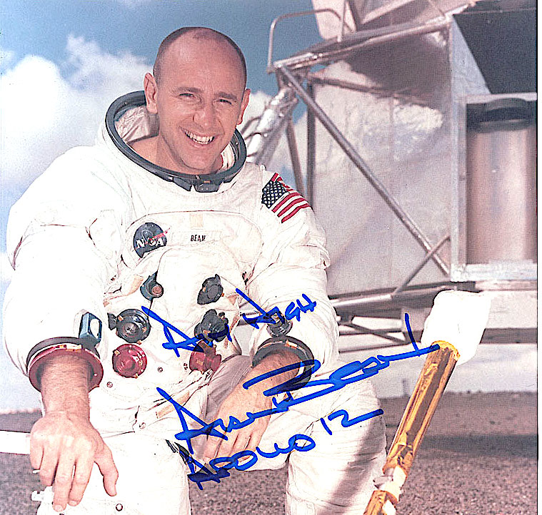 Moonwalker Daughter: Astronaut Alan Bean's daughter Amy (RR Auction 526)