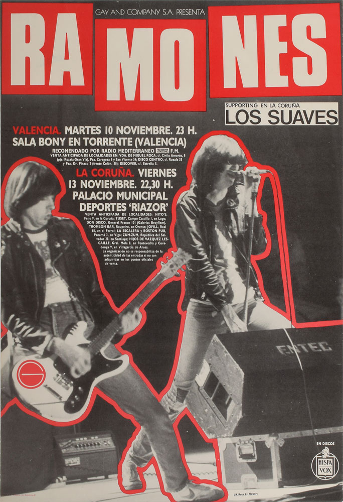 Ramones' tour manager Monte A. Melnick