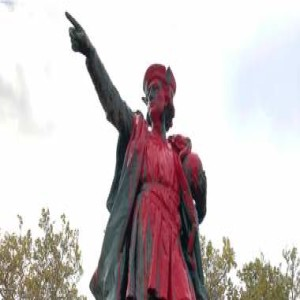 Left Ramps Up Attacks on Columbus Day