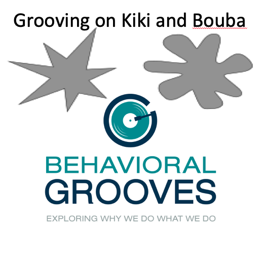 Grooving: Kiki and Bouba Minds