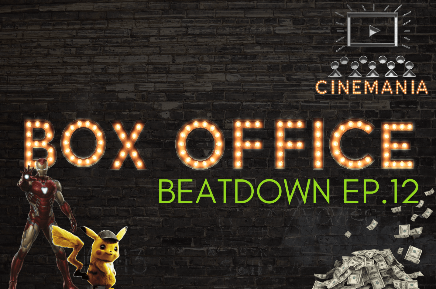 """Box Office Beatdown Ep.12 """"Avengers: Endgame Holds the #1 Spot in it's 3rd Weekend!"""""""