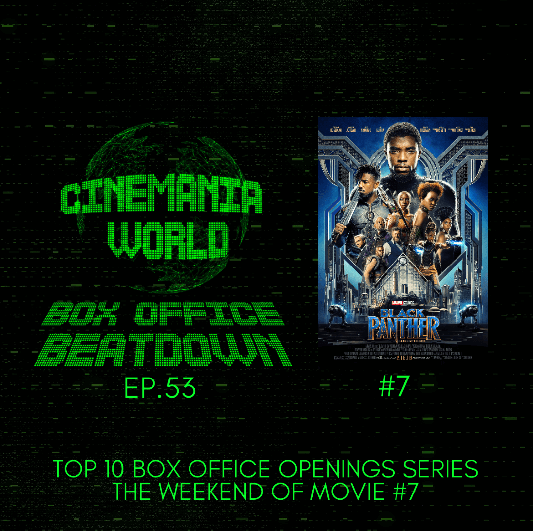 """Box Office Beatdown Ep.53 """"Top 10 Box Office Openings Series: Black Panther"""""""