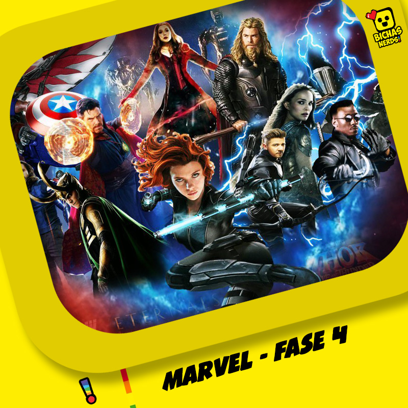 BichasNerds (S04E11) - Marvel - Fase 4