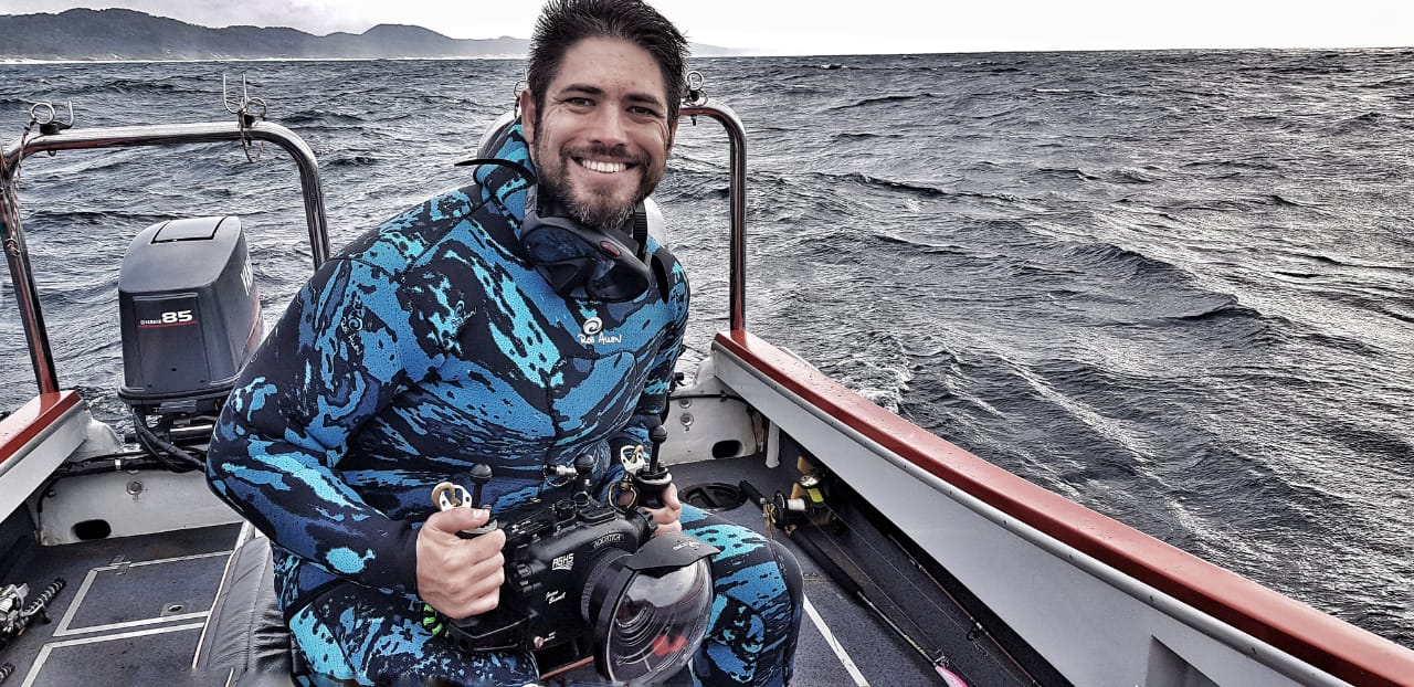 Underwater cameraman: An interview with Jason Boswell