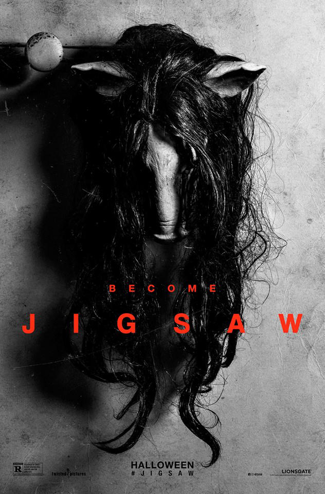 EP329: Jigsaw, Happy Death Day, Cult of Chucky Reviews, 12 Strong, Wrinkle in Time, Den of Thieves, Winchester House That Ghosts Built Trailers