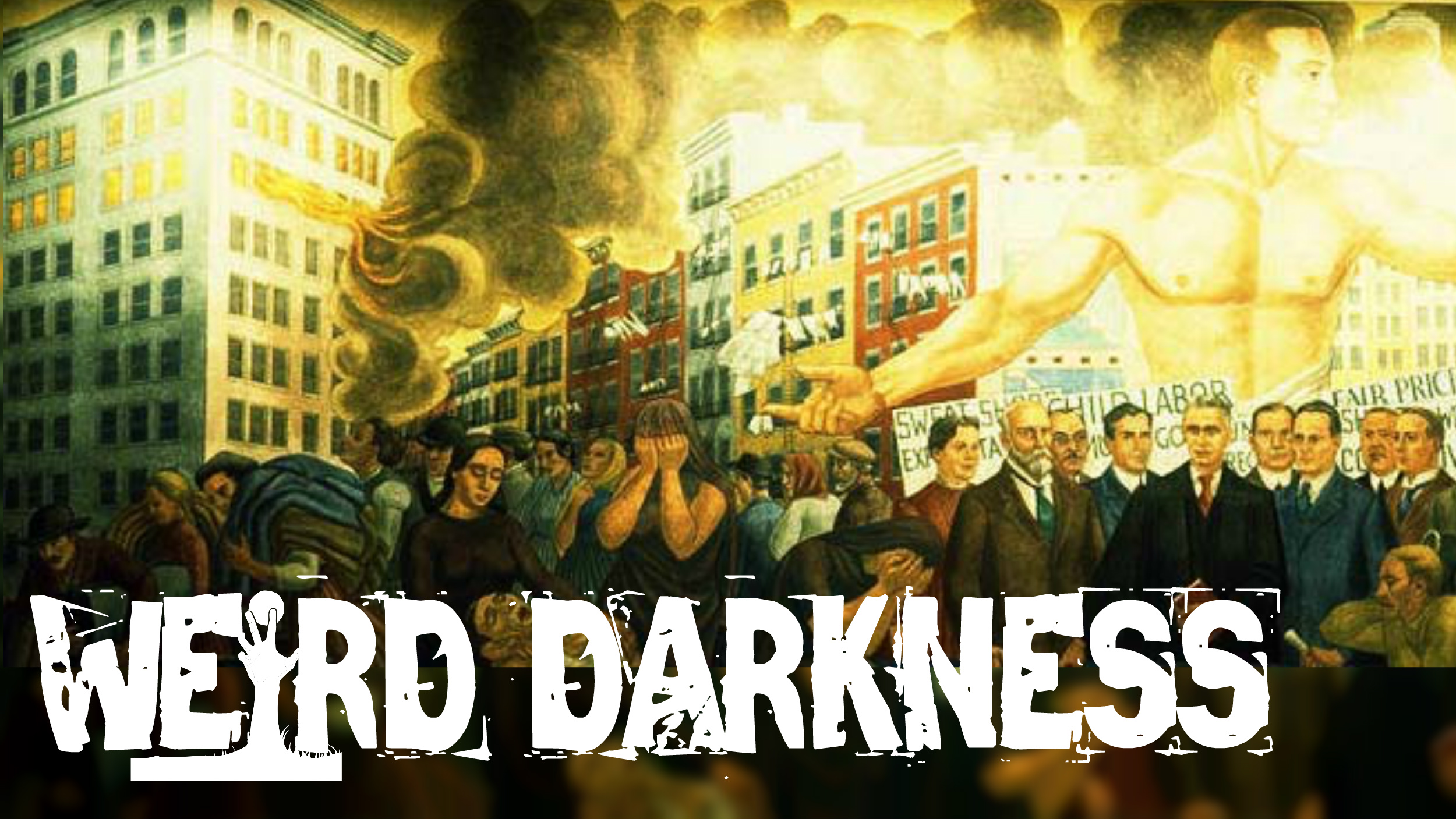 GHOSTS FROM THE FLAMES: 4 Scary, True Paranormal Horror Stories! #WeirdDarkness
