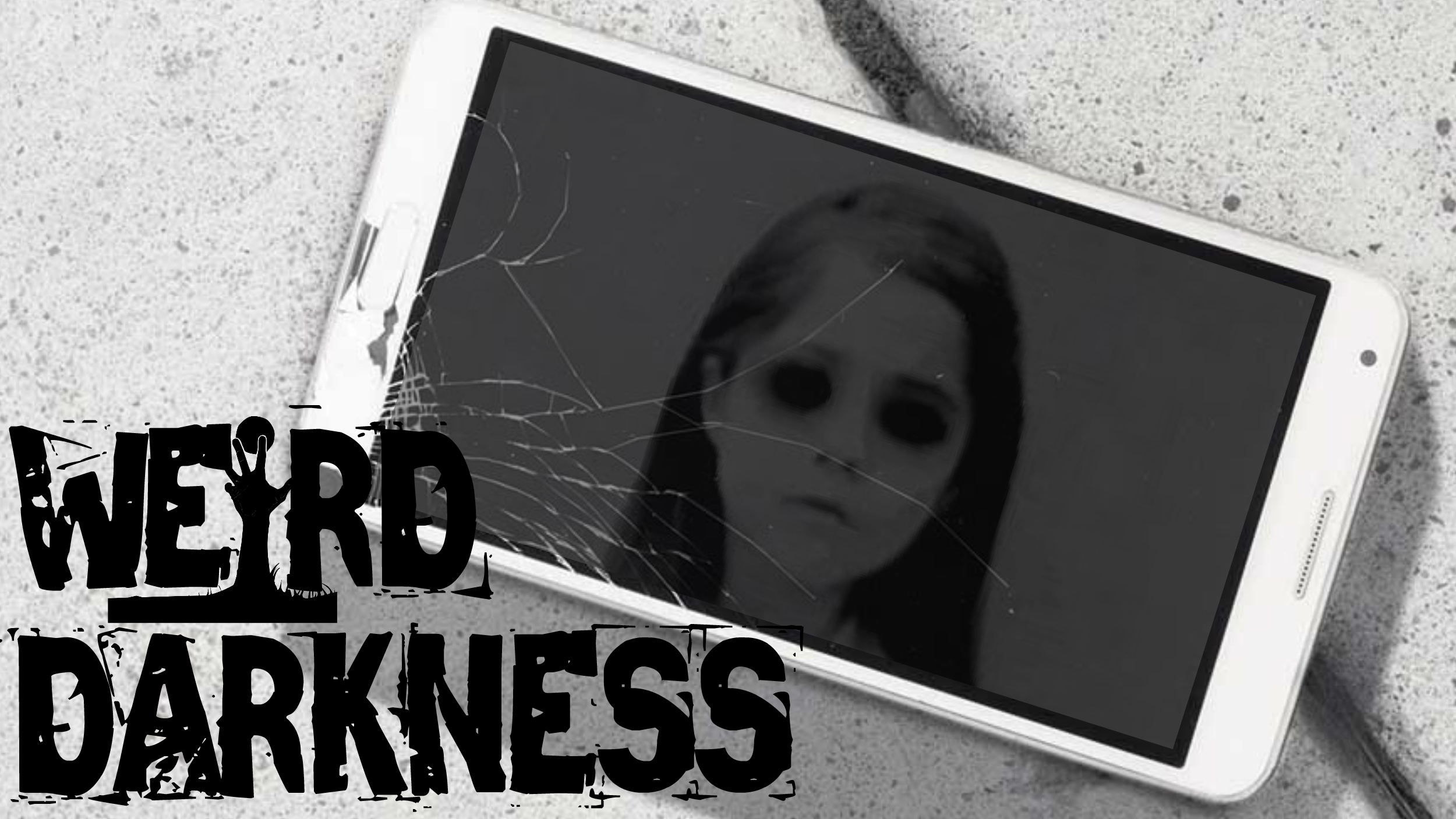 """THE BLACK-EYED KID SELFIE ON MY PHONE"" and 7 More Scary Paranormal Horror Stories! #WeirdDarkness"