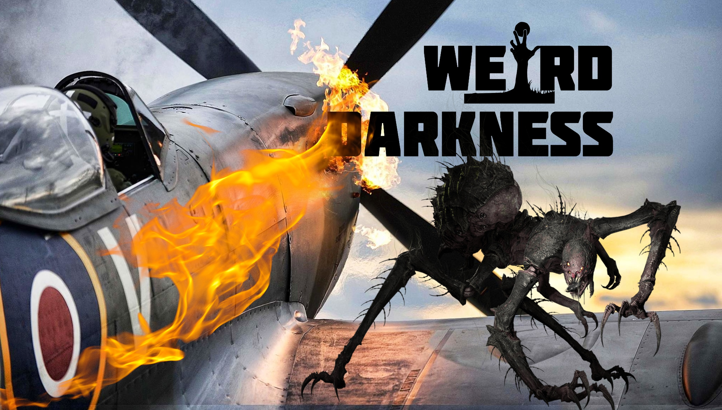 "#WeirdDarkness: ""THERE'S A CREATURE ON THE WING!"" and More Terrifying True Stories!"