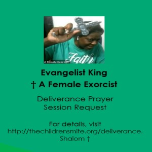 Deliverance Prayer Session Request