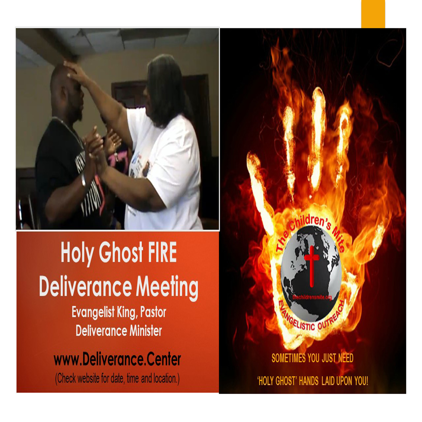 05-18-19 | Holy Ghost FIRE Deliverance Meeting