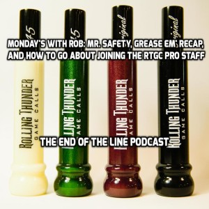 Monday's With Rob: Mr. Safety, Recap of College Football Pick Em', Ooseritis, RTGC Pro Staff, and What was the best Rocky Movie?