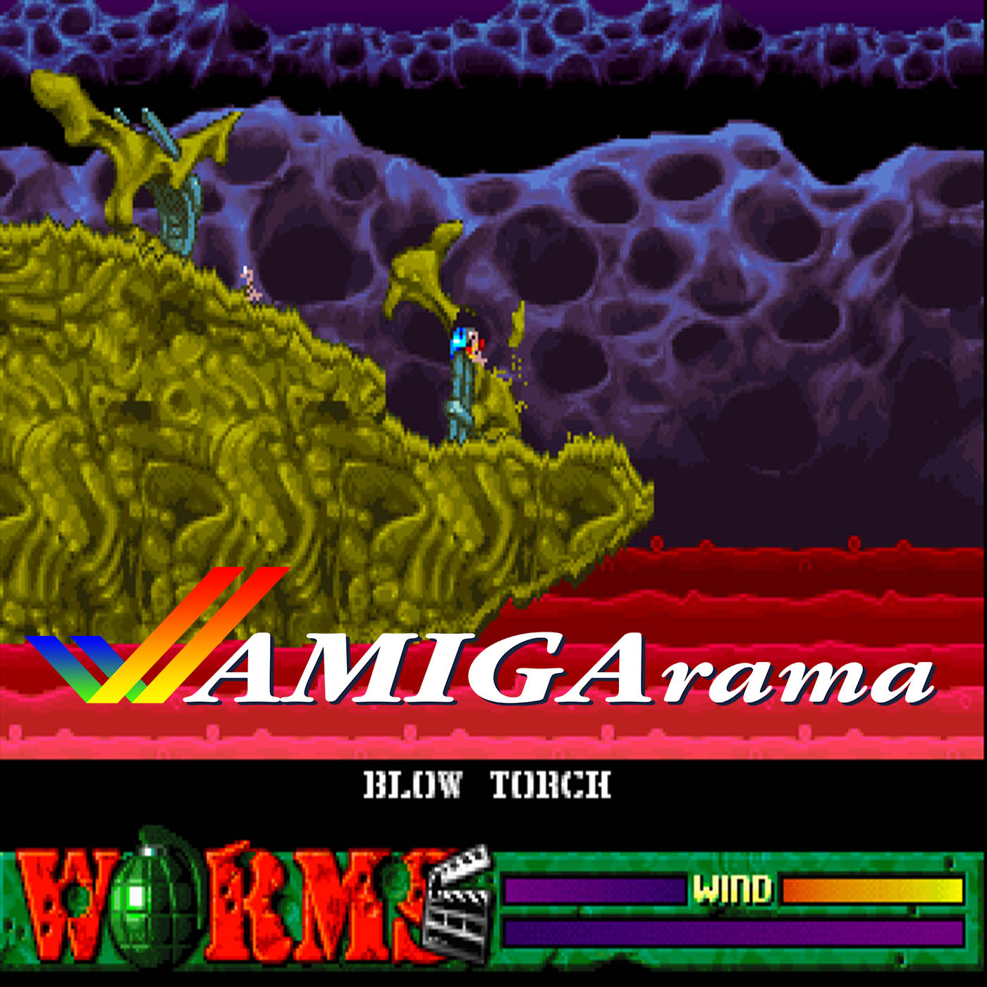 AMIGArama Podcast Episode 8: Worms