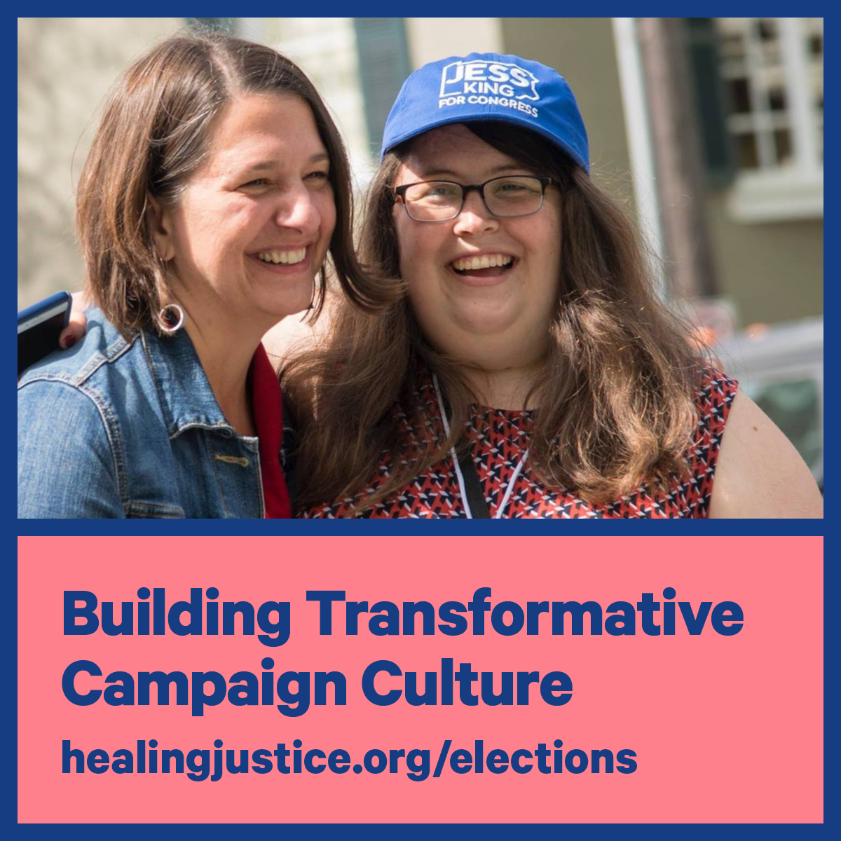 Building Transformative Campaign Culture with Nancy Leeds (CampaignSick) and Becca Rast (Jess King for Congress)